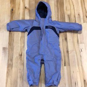 Girls 18 Month Patagonia Snowsuit GUC